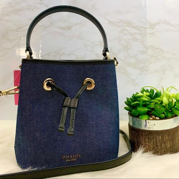 kate spade Handbags - Kate Spade Denim Bucket Bag